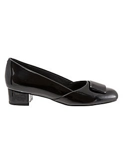 735172a21 Delse Patent Kitten Pumps BLACK. QUICK VIEW. Product image