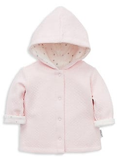 6b51e495f QUICK VIEW. Little Me. Baby Girl's Reversible Cotton Blend Hooded Jacket.  $32.00