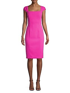 76a28a97860 QUICK VIEW. Eliza J. Cap Sleeve Sheath Dress