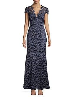 398b1c6a5bf QUICK VIEW. Eliza J. Floral Lace Gown