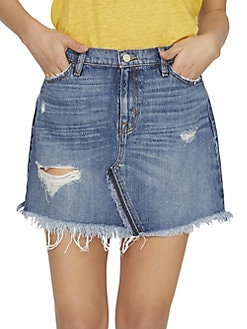 c3075e7565 QUICK VIEW. Sanctuary. Sunny Distressed Denim Mini Skirt