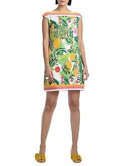 6abe4a3f QUICK VIEW. Trina Turk. Hibiscus Floral Shift Dress