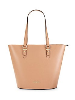 95fb202483 Product image. QUICK VIEW. Karl Lagerfeld Paris. Ellie Leather Tote Bag