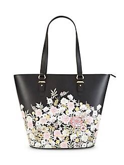 ddf08b7b43 Ellie Floral Tote Bag BLACK FLORAL. QUICK VIEW. Product image