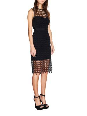 Mesh Midi Dress by Cynthia Rowley