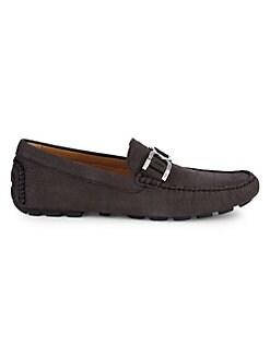finest selection f6c36 42bb2 QUICK VIEW. Donald J Pliner. Derrik Leather Driver Shoes