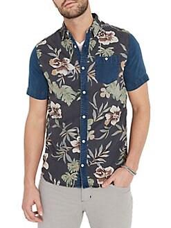 d42a7a40 BUFFALO David Bitton | Men - Clothing - Casual Button-Down Shirts ...