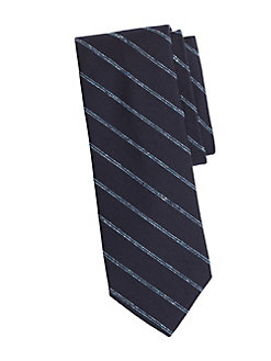 57eaa4d467e0 QUICK VIEW. Brooks Brothers. Double Stripe Silk Tie