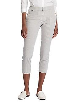 cd0de034b QUICK VIEW. Lauren Ralph Lauren. Seersucker Skinny Pants