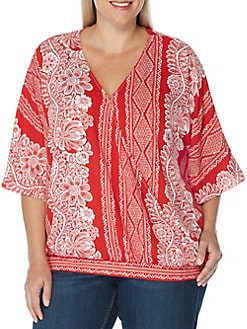 7334bba473e Plus Size Womens Shirts   Tops