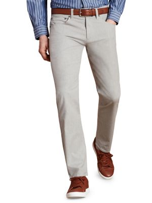 Image of Heathered 5-Pocket Pants