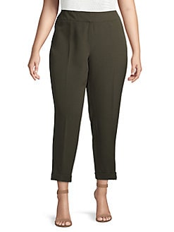ac6a9692bf0c8c Plus Size Pants: Dress Pants, Capris & More | Lord + Taylor