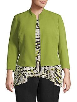 5ad39a5125fe85 Plus Size Coats: Raincoat, Down Coats & More | Lord + Taylor