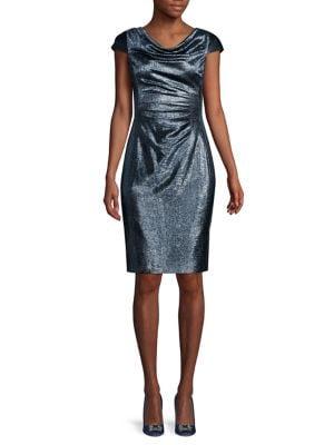 Flutter Sleeve Cocktail Dress by Lauren Ralph Lauren
