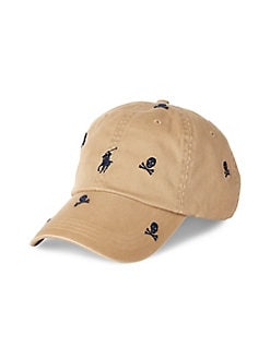 31aea555a Product image. QUICK VIEW. Polo Ralph Lauren. Skull Chino Cotton Baseball  Cap