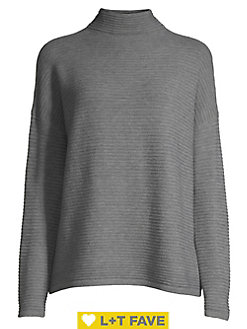 BOBBIE BROOKS-Women Most Sizes Ladies GRAY//BLACK Mix Sweater Dress W//Black Scarf