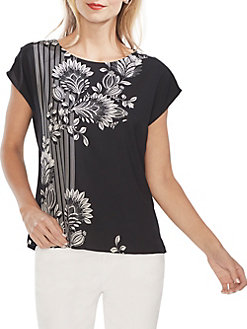 daf78f595 QUICK VIEW. Vince Camuto. Modern Rouge Floral Blouse