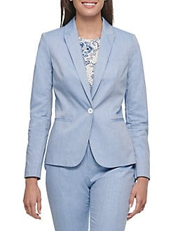 Sky Blue Women Business Suits Formal Work Slim Office Uniform Styles 2 Piece Jacekt+pant Custom Made Pants Suit 116 Pant Suits Suits & Sets