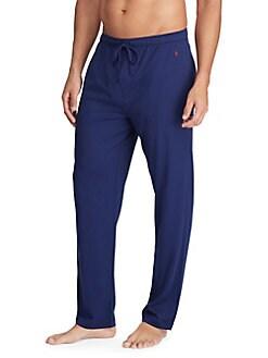 512da06346 Product image. QUICK VIEW. Polo Ralph Lauren. Logo Cotton Blend Pajama Pants