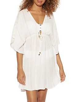 680ea8e94d Women - Clothing - Swimwear & Cover-Ups - Cover-Ups - lordandtaylor.com