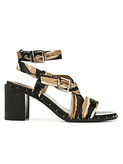 ea465354dc8 QUICK VIEW. Franco Sarto. Calf Hair Block Heel Sandals