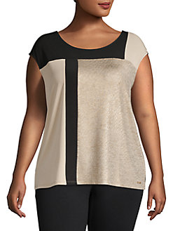 676cf3383a2a93 Plus Size Womens Shirts & Tops | Lord + Taylor
