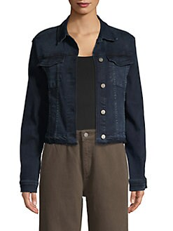 6080fcf4911f QUICK VIEW. DL1961. Jane Fitted Denim Jacket. $199.00 · Stand-Collar Long- Sleeve ...