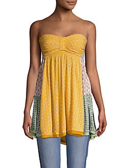 4b28af8601e Across The Sea Printed Tunic YELLOW. QUICK VIEW. Product image. QUICK VIEW. Free  People