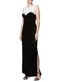 529f2330133c4 QUICK VIEW. Alex Evenings. Sleeveless Embellished Gown