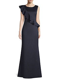 c0fa098c996 QUICK VIEW. Eliza J. Ruffled Sleeveless Flounce Gown