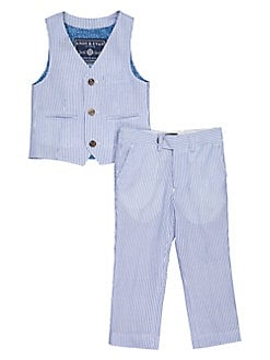 c746fc16b QUICK VIEW. Andy   Evan. Baby Boy s 2-Piece Seersucker Suit Vest   Pants Set