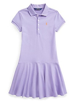 ad305fdd9 QUICK VIEW. Ralph Lauren Childrenswear. Girl s Drop-Waist Dress