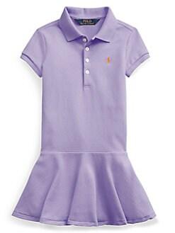 857a1b55d701c QUICK VIEW. Ralph Lauren Childrenswear. Little Girl's Drop-Waist Dress