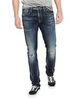 60059d707721c4 QUICK VIEW. BUFFALO David Bitton. Distressed Slim-Fit Jeans