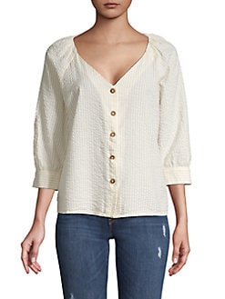 27b3b62a Women's Button Down and Collared Shirts | Lord + Taylor