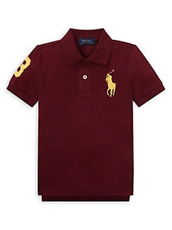 6d4690392 QUICK VIEW. Ralph Lauren Childrenswear. Little Boy's Mesh Cotton Polo