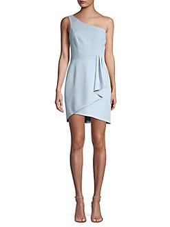 5e2006b26f0f QUICK VIEW. BCBGMAXAZRIA. One-Shoulder Satin Cocktail Dress