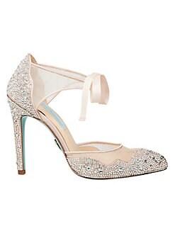 f376ef89c QUICK VIEW. Betsey Johnson. Iris Embellished Stiletto Sandals