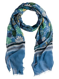 310ce5feed10a Product image. QUICK VIEW. Olsen. Color Love Floral-Print Frayed Scarf
