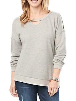 53077484a5 Women - Clothing - Sweatshirts & Hoodies - lordandtaylor.com
