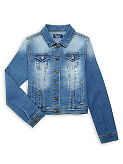 8233a50fe48 Girl's Washed Denim Jacket MEMORY. QUICK VIEW. Product image