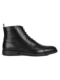 ea4aa923e9d5a Hilstone 2Fit Wide Leather Boots BLACK. QUICK VIEW. Product image