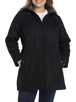 9e36ed45aee Plus Size Coats: Raincoat, Down Coats & More   Lord + Taylor
