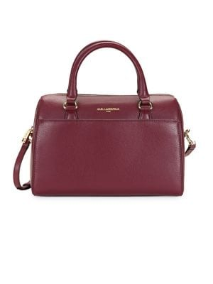 Image of Willow Leather Convertible Satchel