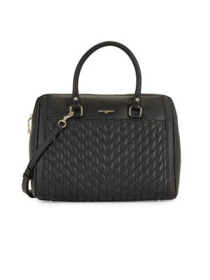 Image of Agyness Leather Convertible Satchel