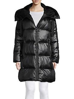 New Womens Waterproof Glossy Metallic Look Faux Fur Lined Waterproof Rain Mac