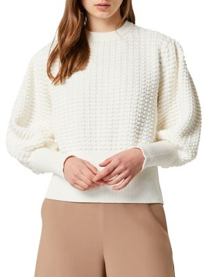 Image of Mozart Popcorn Balloon-Sleeve Sweater