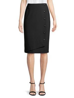 Image of Compression Ponte Skirt