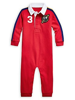 Timberland Baby Boys Red Snowsuit | Childrensalon