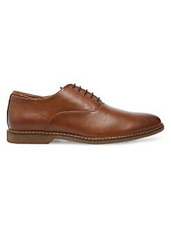 Madden Niston Men's Faux Leather Oxfords (Cognac)